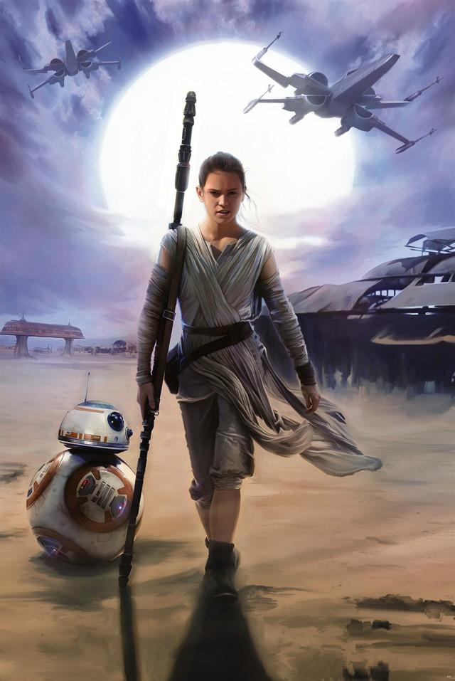 《星大战》,6《星球战7原力觉醒》,《Star Wars: The Force Awakens》,剧照