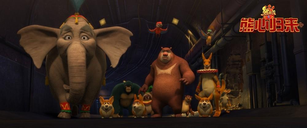 马戏团中的小动物们